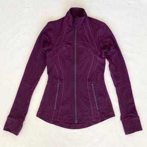 Lululemon Define Jacket Purple Darkest Magenta